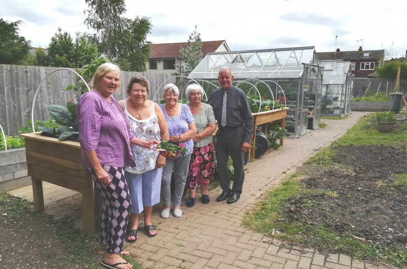 Garden transformation makes a big difference to residents' lives