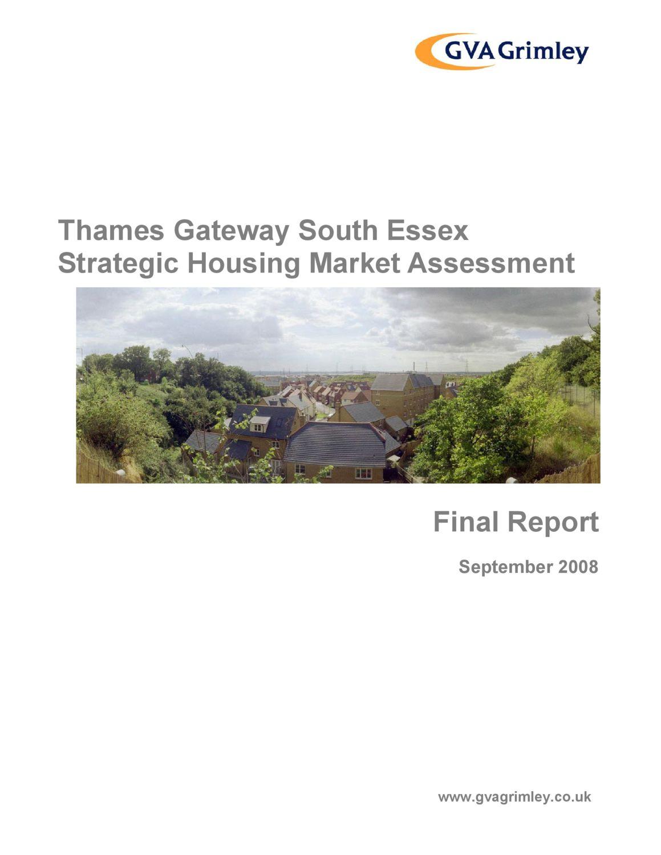 TGSE SHMA 2008 Report