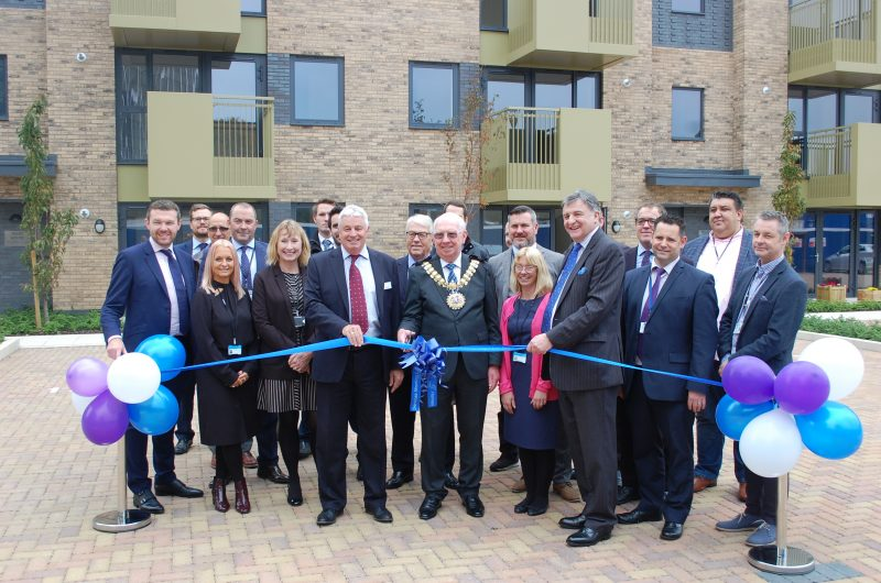 People have moved into fabulous new apartments on the former Southend College site in Southend-on-Sea