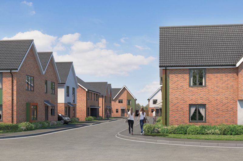 Housing association to build 74 affordable homes on derelict site in Braintree
