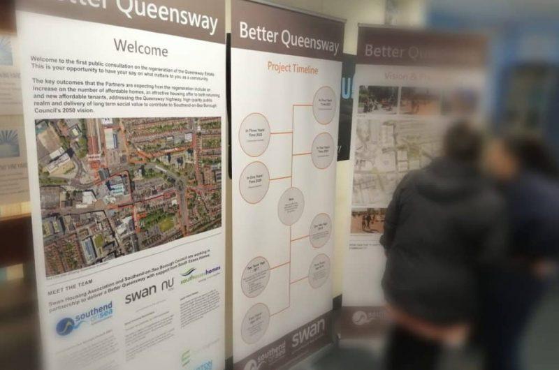 Queensway residents' enjoy regeneration launch event