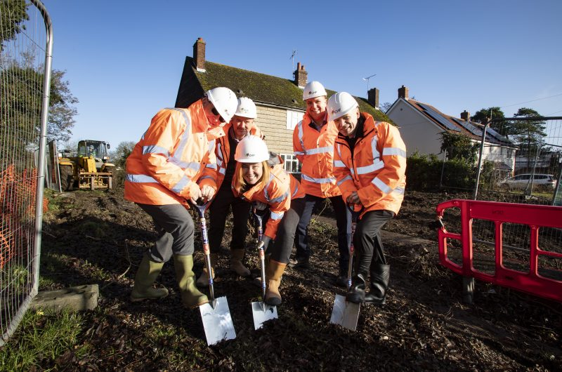 Local housing association CHP works in partnership with Council to deliver new affordable homes