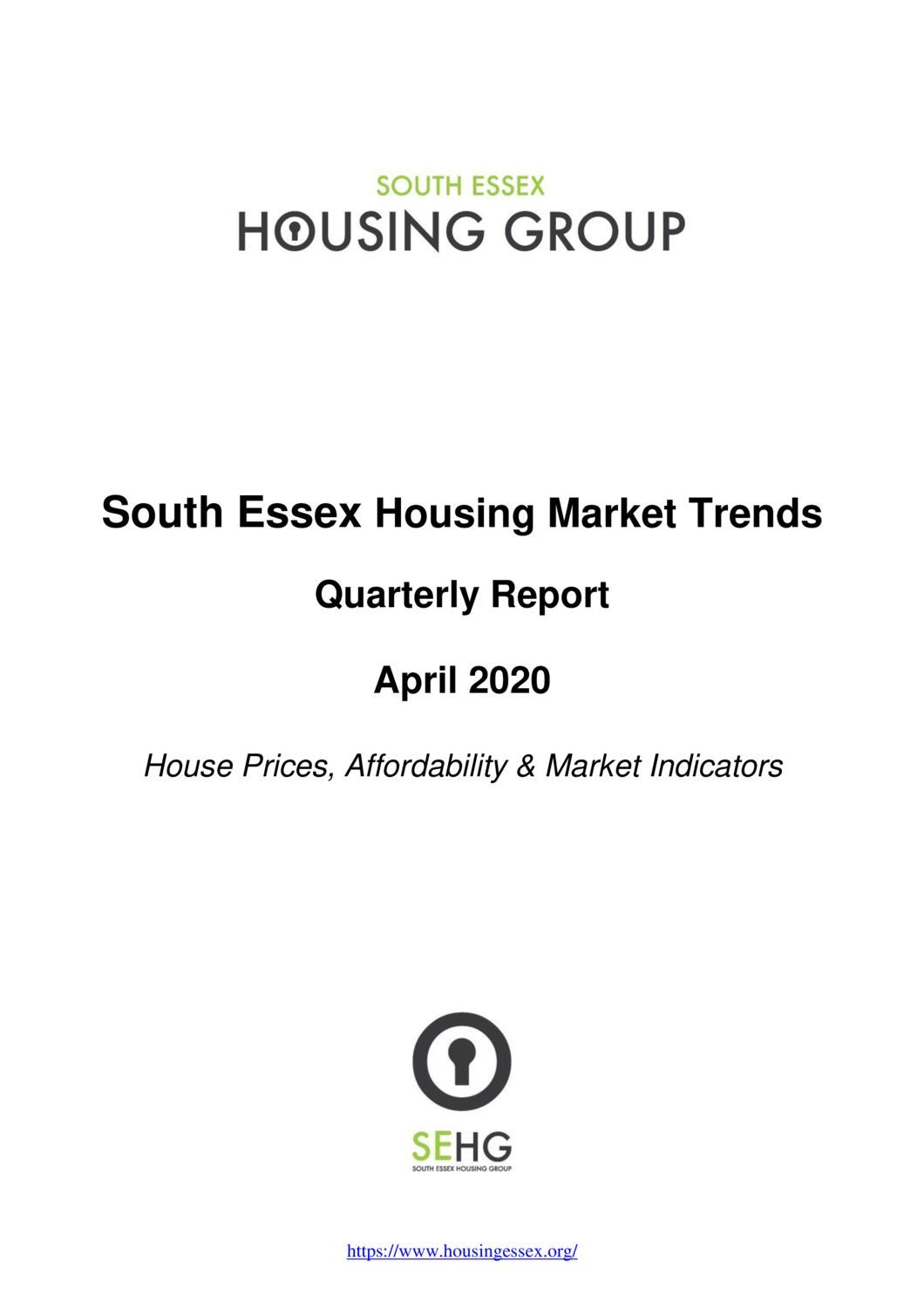 South Essex Housing Market Trends Report April 2020