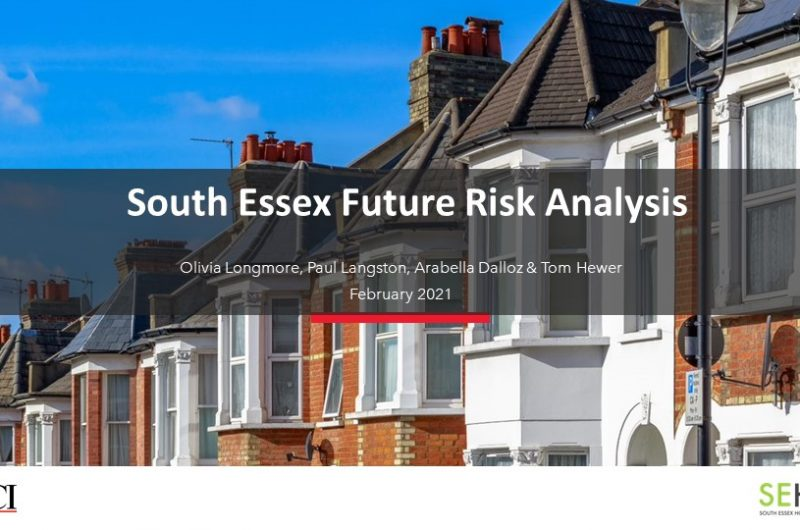South Essex Future Risk Analysis