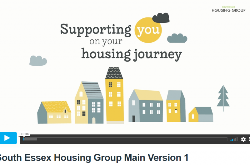 A new 'Ready to Rent' video is launched by the South Essex Housing Group